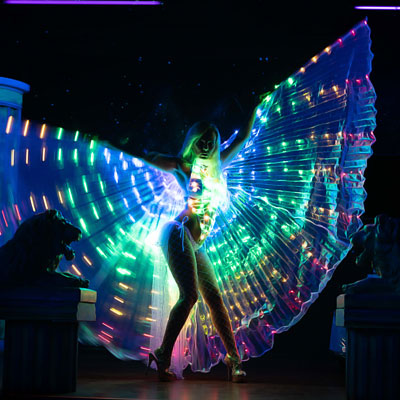LED-Show buchen für Events in Berlin +150 Km - CANDY DEE